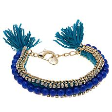 Jo Le Playing Dress Up Beaded Tel Bracelet