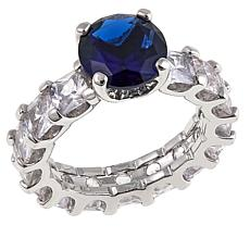 "Joan Boyce Beverly's ""Eternally Elegant"" Colored Eternity Ring"