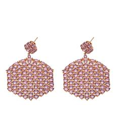 "Joan Boyce Dorothy's ""Just Say Gorgeous"" 36.70ctw CZ Color Earrings"