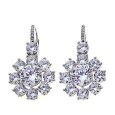 "Joan Boyce Janeen's ""Queen of Ice"" Silvertone Earrings"