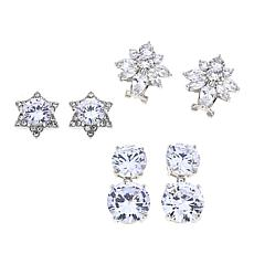 "Joan Boyce Kathy's ""Simply Perfect"" 3-piece Earrings Set"