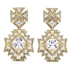"Joan Boyce Shelly's ""From Paris with Love"" Cross Earrings"