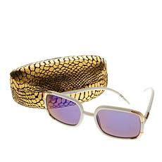 Joan Boyce Signature Square Frame Sunglasses