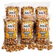 Jody's Gourmet Popcorn 6-pack - Cinnamon Toast Popcorn