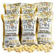 Jody's Gourmet Popcorn 6-pack - Lemon Pepper Popcorn