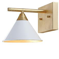 "JONATHAN Y White Gold Yvette 9.25"" 1-light Metal Wall Sconce"