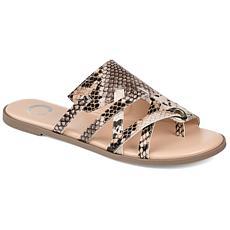 Journee Collection Women's Comfort Foam Hasten Sandal