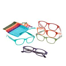 JOY 10-piece SHADES Readers in Classic Design Frames