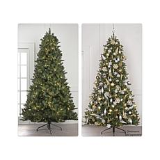JOY 7.5' Pre-Lit Forever Fragrant® Holiday Scented Christmas Tree