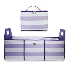 JOY Deluxe Trunk Organizer with Insulated Cooler Tote