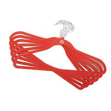 JOY Huggable Hangers® Suit Hangers 24-pack - Chrome