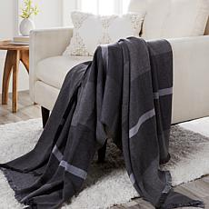 JOY Luxury Better Blanket Plaid Cotton &