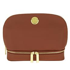 JOY Smart & Chic Leather Travel Case w/Secret Section