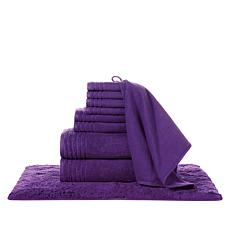 JOY Supreme Stretch™ 10-piece Bleach/Cosmetic-Resistant Towel Set