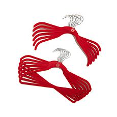 JOY Ultra Slim Huggable Hangers® Buy 20, Get 20 Bonus Set - Chrome