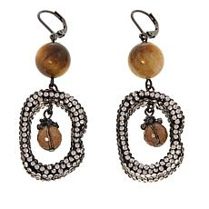 Joyce Williams Tiger's Eye Beaded Earrings