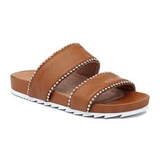 J/Slides NYC Emmie Studded Leather Slide Sandal