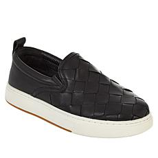 J/Slides NYC Junior Leather Slip-On Sneaker