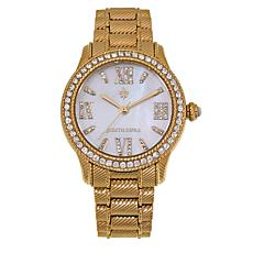 Judith Ripka Gemstone and Diamonique® Morgan Bracelet Watch