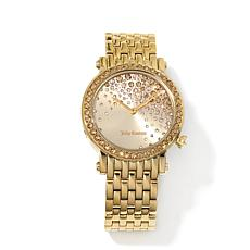 Juicy Couture Crystal Dial and Bezel Goldtone Watch