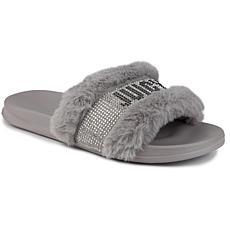Juicy Couture Steady Faux Fur Sandal Slide