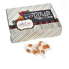 JulieAnn 2 lbs. Caramels with Holiday Gift Bags
