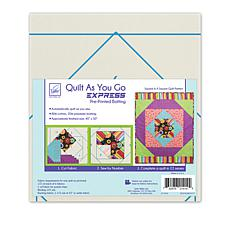 June Tailor Quilt As You Go Square in Square Quilt