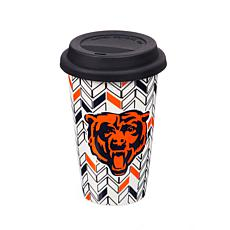 Just Add Color, Travel Cup, Chevron - Chicago Bears