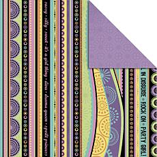 "Kaisercraft Allsorts Double-Sided 12"" x 12"" Paper - Passionfruit"