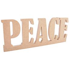 Kaisercraft Beyond The Page MDF Standing Word - Peace