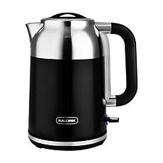 Kalorik 1.7-Liter Retro Electric Kettle - Black