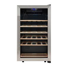 Kalorik 33-Bottle Compressor Wine Cellar - Stainless Steel
