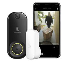 Kangaroo Security Photo Doorbell with Chime and Porch Protection Plan