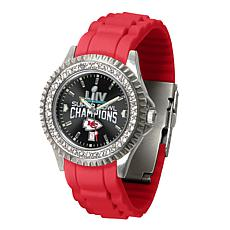Kansas City Chiefs Super Bowl Champions Sparkle Series Women's Watch