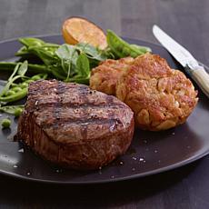 Kansas City Steaks 4-8 oz. Trimmed Filet Mignon and 8-3 oz. Crab Cakes