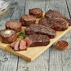 Kansas City Steaks (4) 8oz. Filet Mignons & (4) 10oz. Strip Steaks