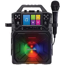 "Karaoke USA SD520 Portable Karaoke Player w/4.3"" Color TFT Screen"
