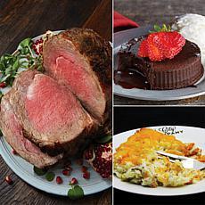 KC Steak Co Prime Rib Meal Combo w/4.5lb. Prime Rib - Nov. Delivery