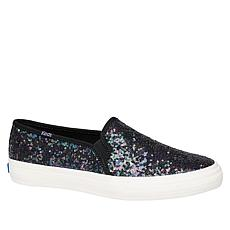 Keds Double Decker Black Sequin Slip-On Sneaker