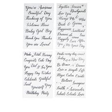 Kelly Creates Celebration Tracing Stamps 4-pack