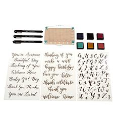 Kelly Creates Stamps, Ink and Pens Stamping Bundle