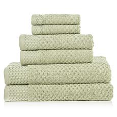 Kempsey 100% Turkish Cotton 6pc Towel Set