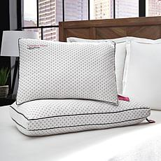Kensington Manor by Behrens Charcoal Infused Memory Foam Pillow - F/Q