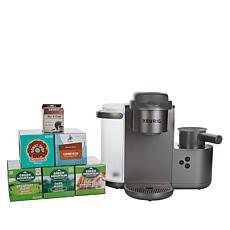 Keurig K-Cafe Coffee, Latte & Cappuccino Maker w/60 K-Cups & My K-Cup