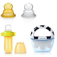 Kidsme Food Squeezer and Icy Moo Moo Teether