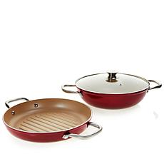 "Kimberly Schlapman ""Love and Daisies"" 3-piece Cookware Set"