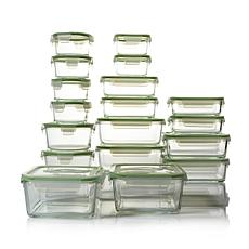 Kinetic Glassworks 36pc Glass Food Storage Set