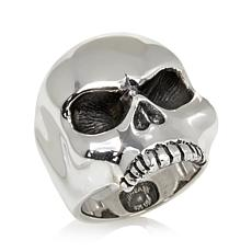 King Baby Jewelry Sterling Silver Skull Ring