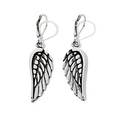 King Baby Jewelry Wing Design Earrings