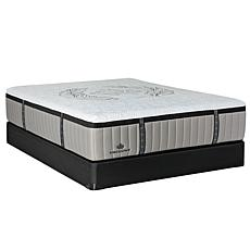 Kingsdown Crown Imperial Crest Firm Hybrid Plush Mattress Set - Queen